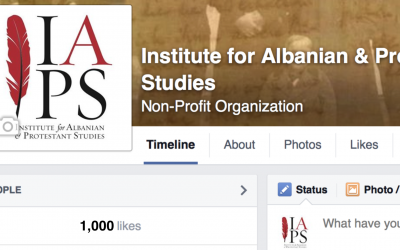 Thanks to our first 1,000 Facebook followers
