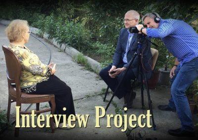 June 2016: Interview Project