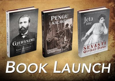 November 2016: Skopje Book Launch