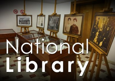 November 2016: Mini-Expo at the Albanian National Library