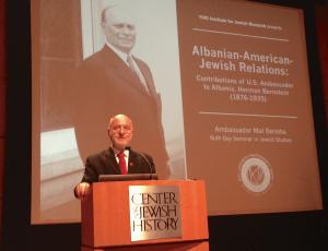 Herman Bernstein & Albanian-Jewish Relations