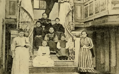Shkolla e Vashave / The Girls' School, Korça, 1905
